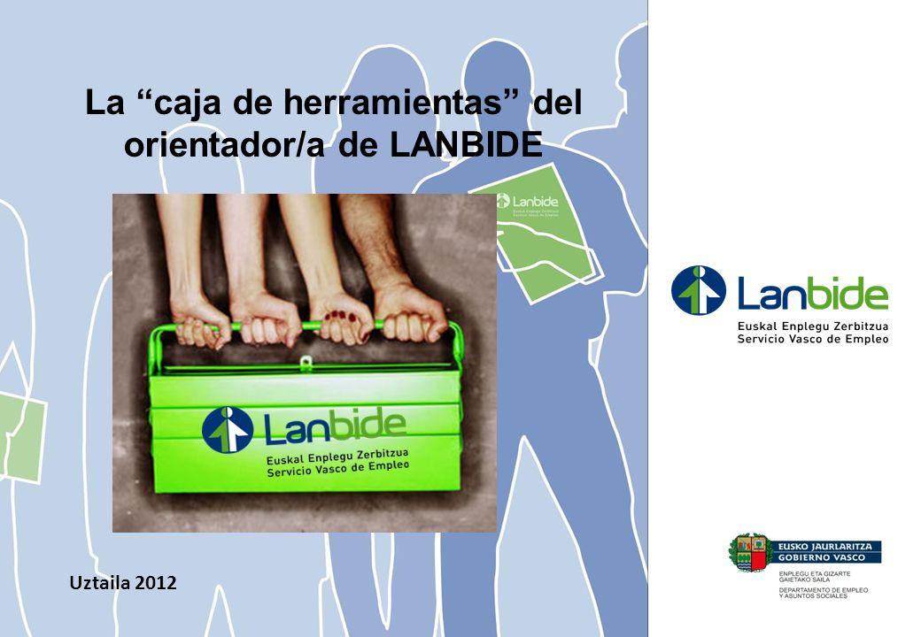 La caja de herramientas del orientador/a de LANBIDE