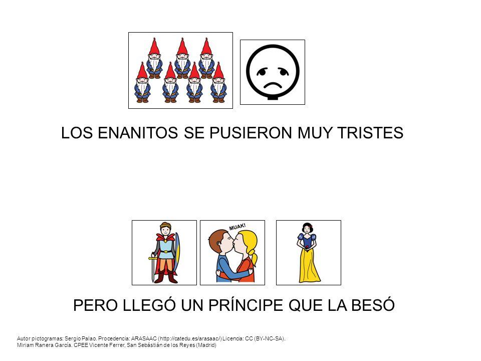 LOS ENANITOS SE PUSIERON MUY TRISTES