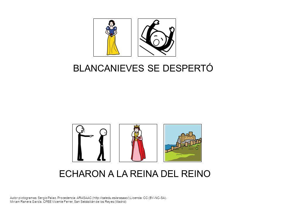 BLANCANIEVES SE DESPERTÓ