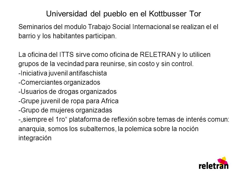 Universidad del pueblo en el Kottbusser Tor