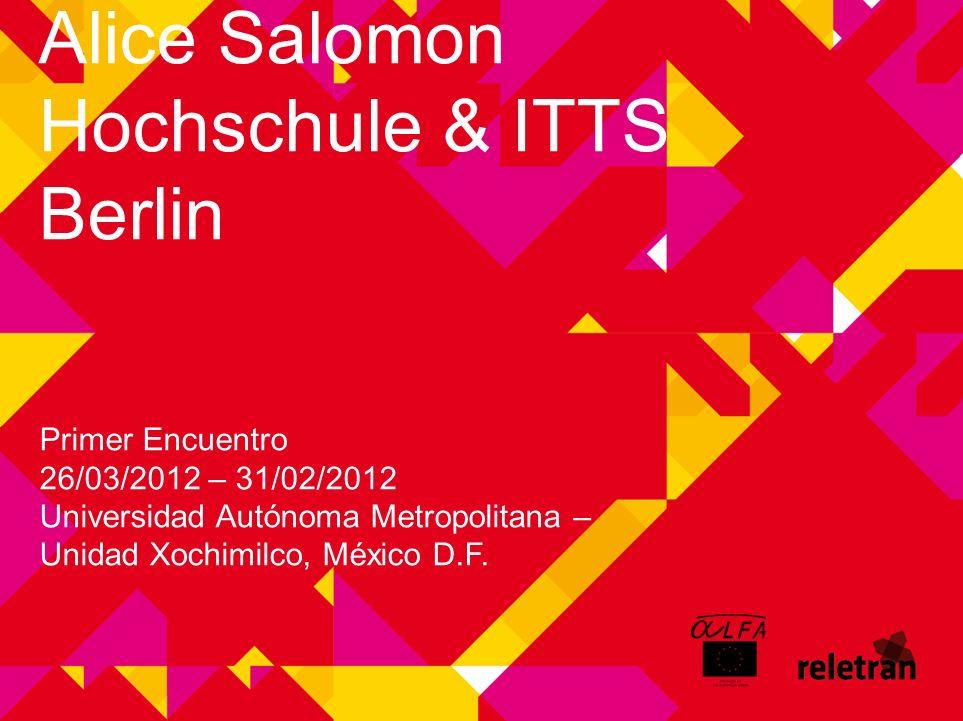 RELETRAN Alice Salomon Hochschule & ITTS Berlin