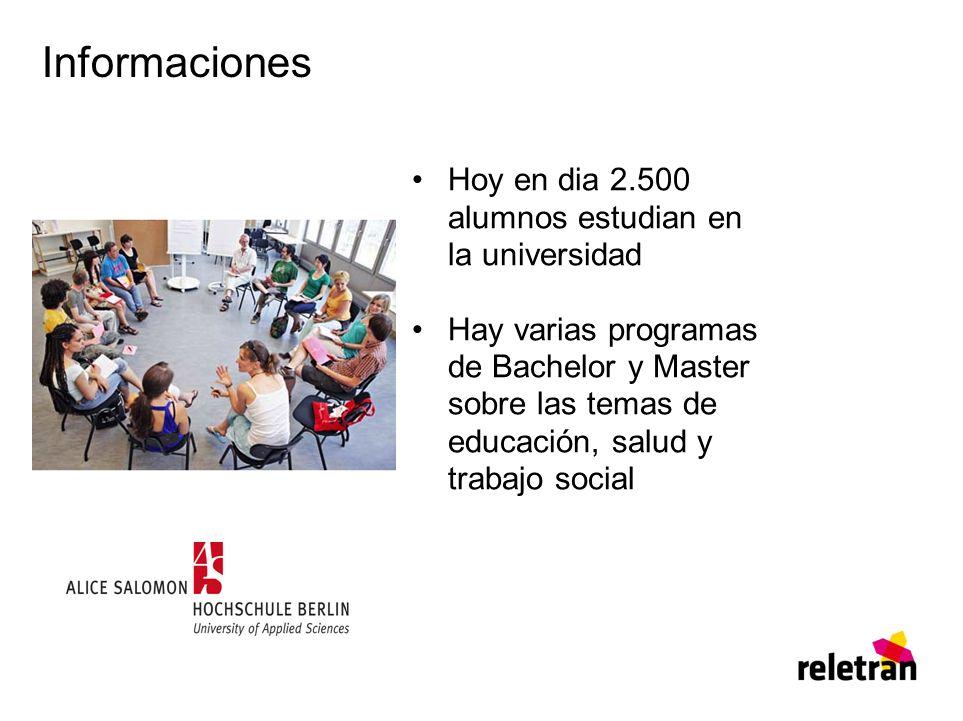 Informaciones Hoy en dia 2.500 alumnos estudian en la universidad