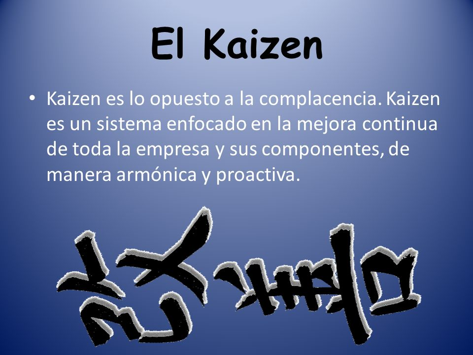 El Kaizen