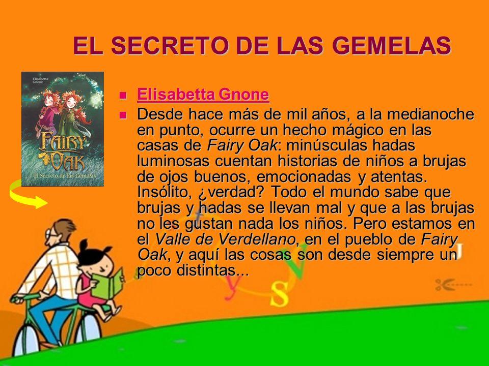 EL SECRETO DE LAS GEMELAS