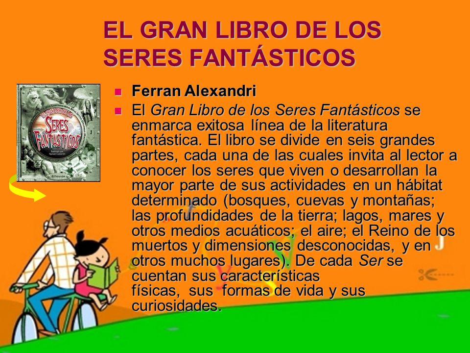 EL GRAN LIBRO DE LOS SERES FANTÁSTICOS