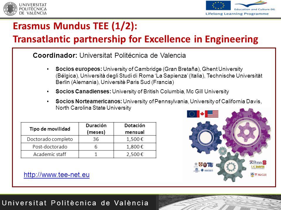 Erasmus Mundus TEE (1/2): Transatlantic partnership for Excellence in Engineering