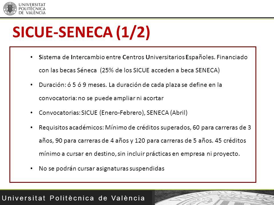SICUE-SENECA (1/2)