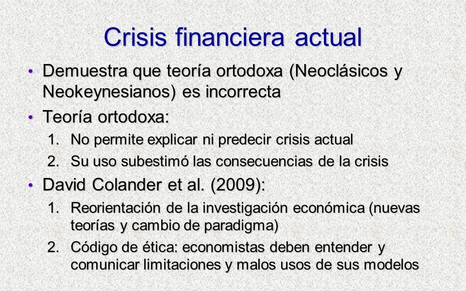 Crisis financiera actual