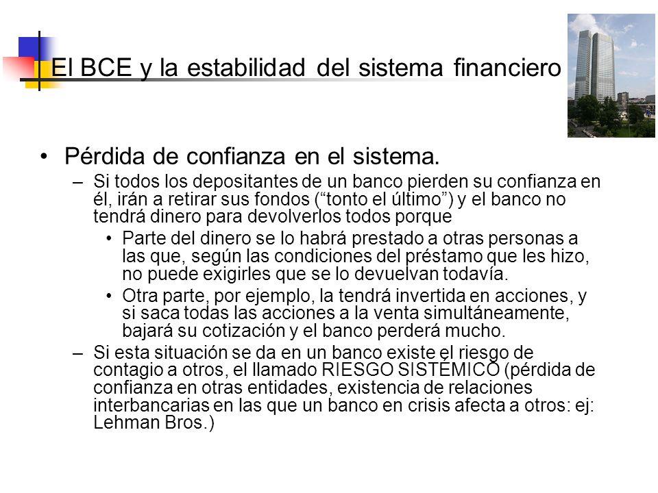 El BCE y la estabilidad del sistema