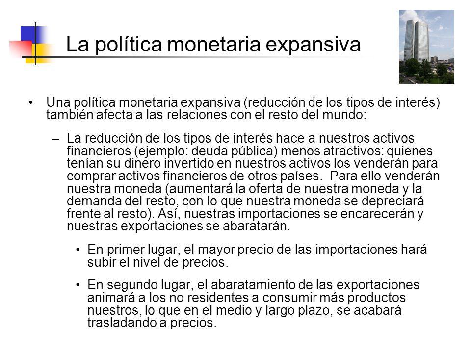 La política monetaria expansiva