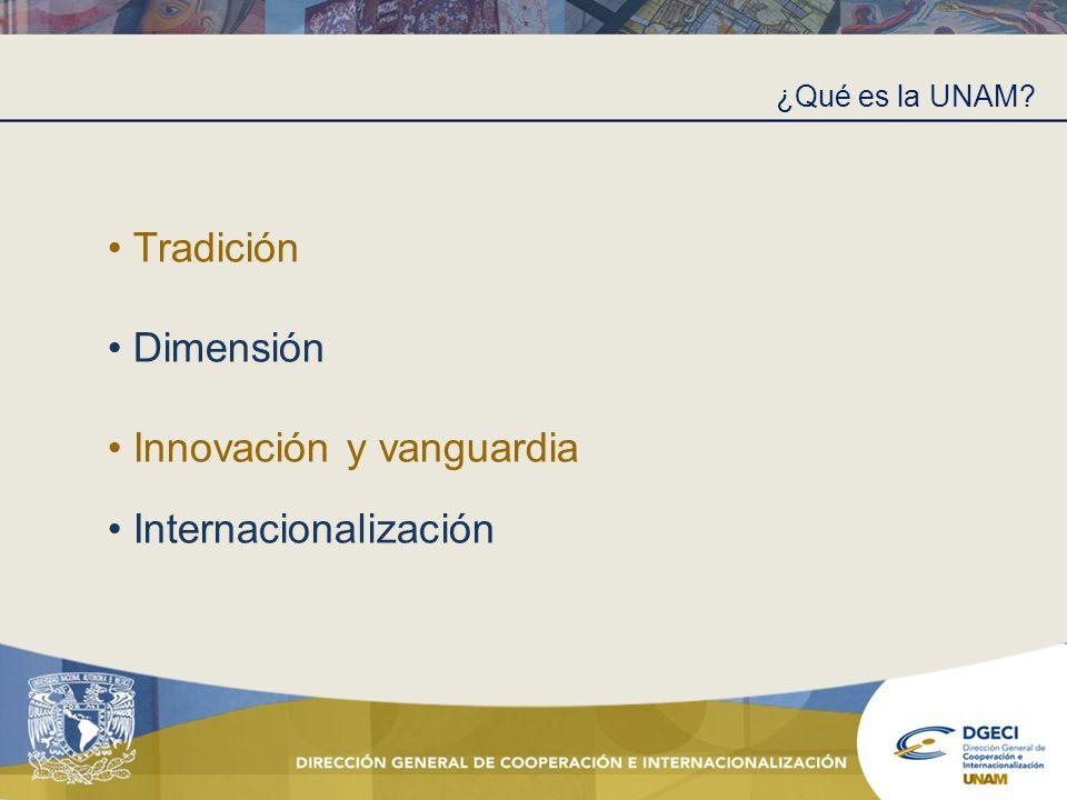 Innovación y vanguardia Internacionalización