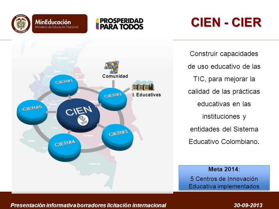 5 Centros de Innovación Educativa implementados
