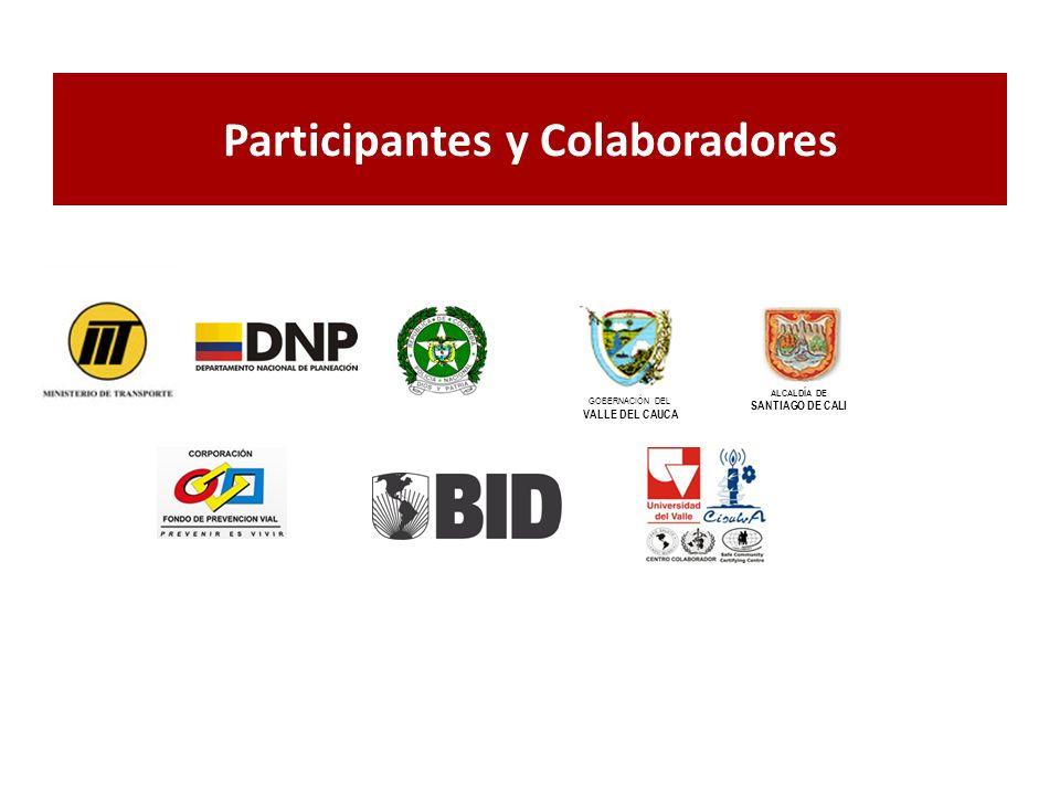 Participantes y Colaboradores