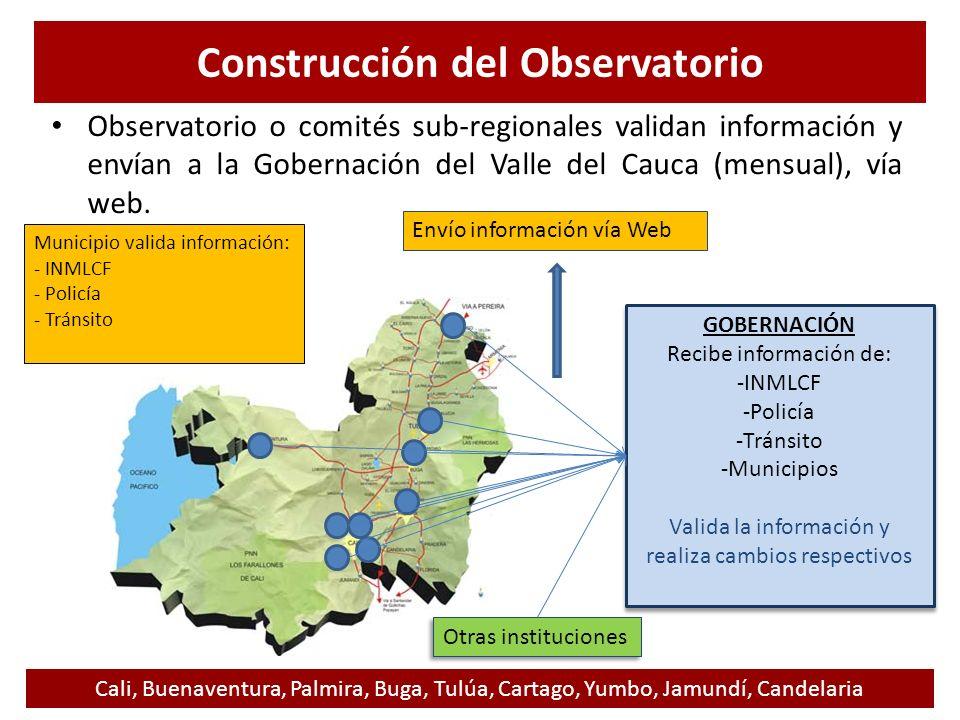 Construcción del Observatorio