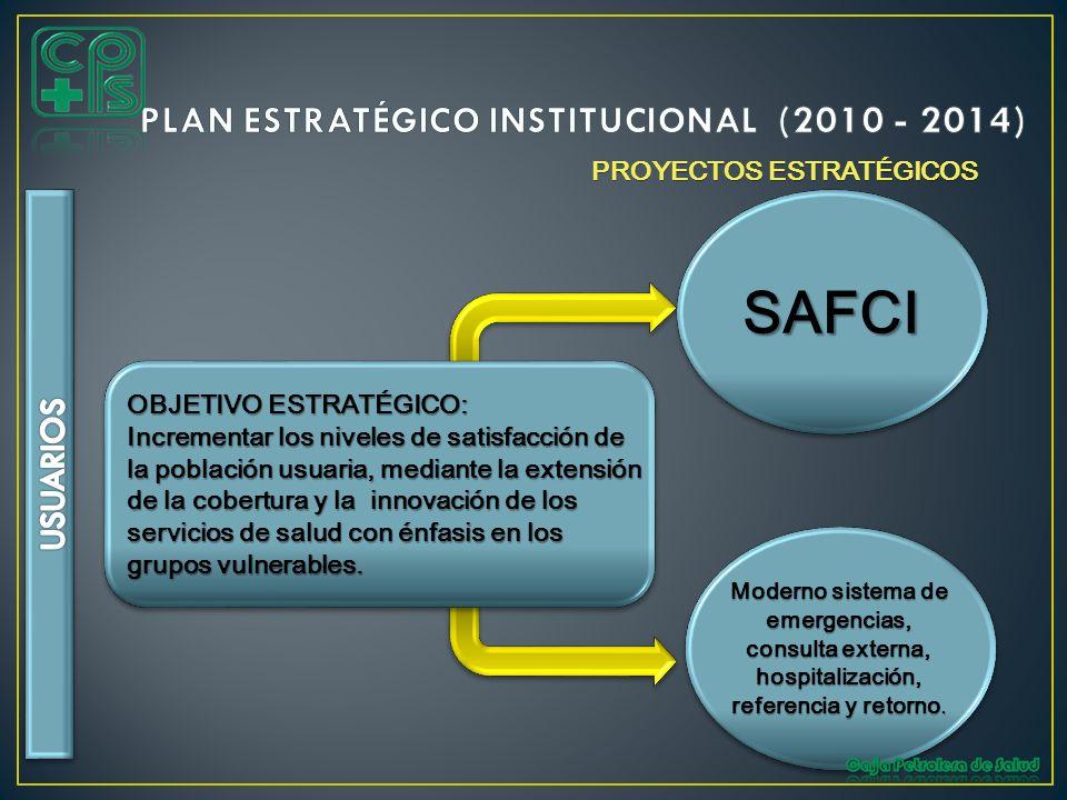 PLAN ESTRATÉGICO INSTITUCIONAL (2010 - 2014)