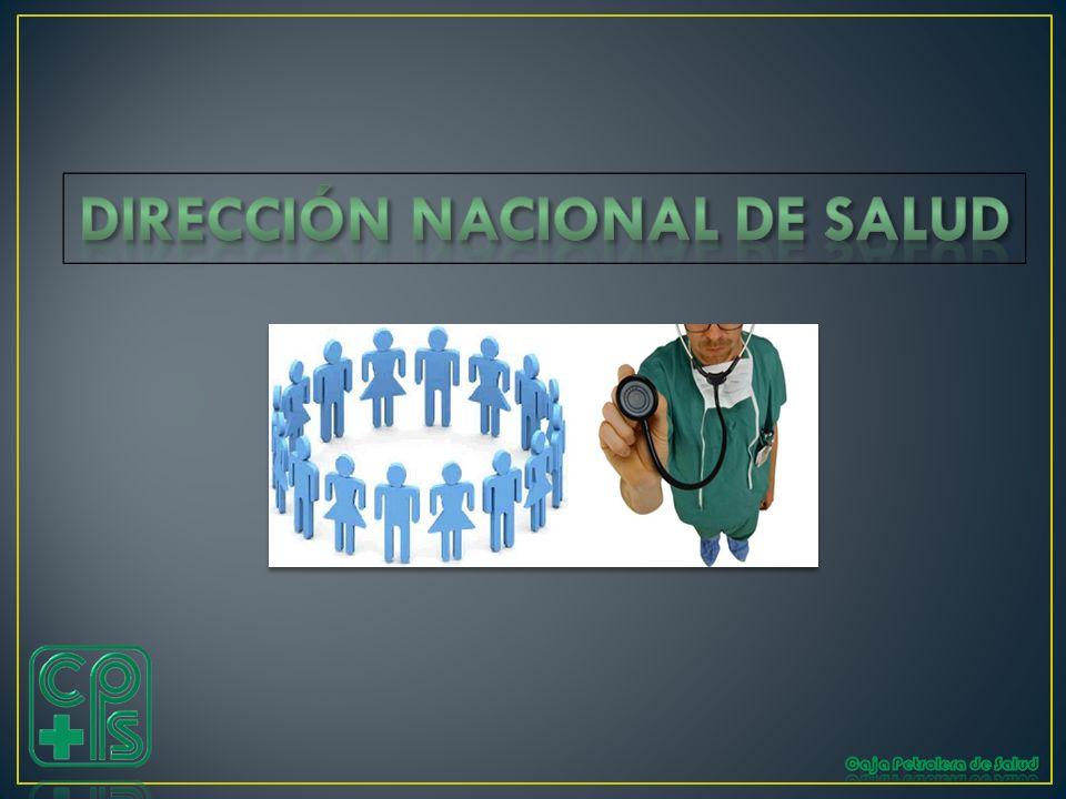 DIRECCIÓN NACIONAL DE SALUD