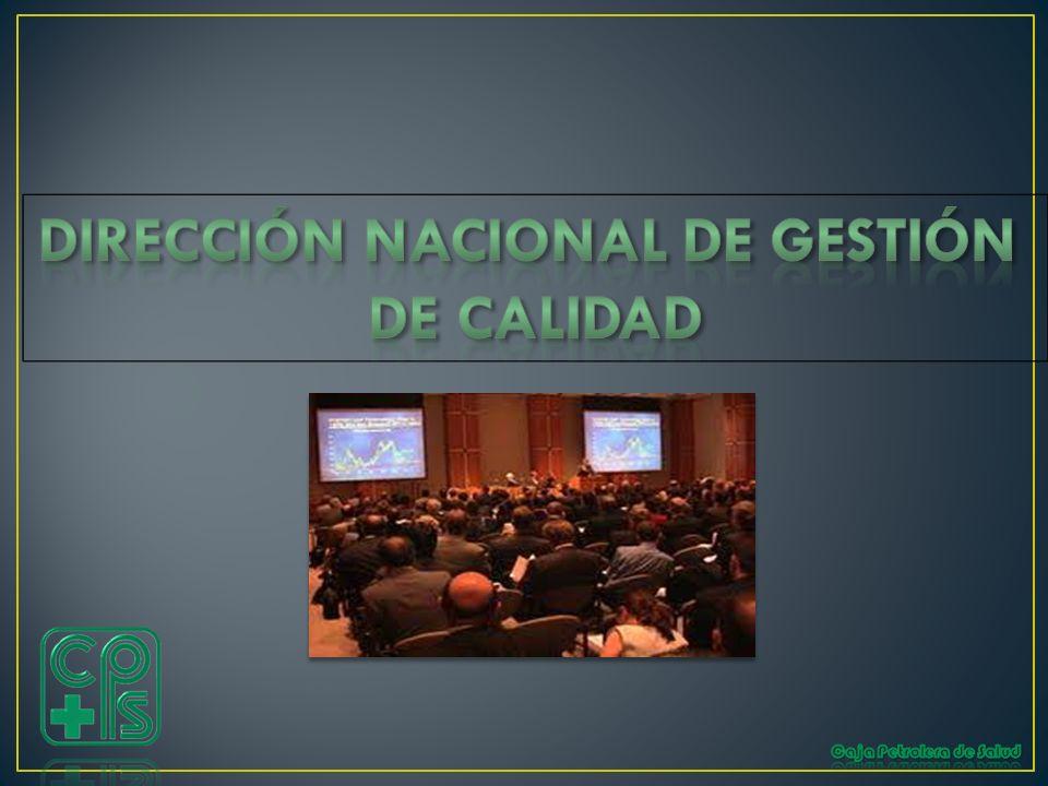 DIRECCIÓN NACIONAL DE GESTIÓN