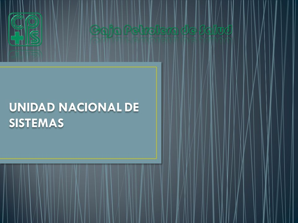 UNIDAD NACIONAL DE SISTEMAS