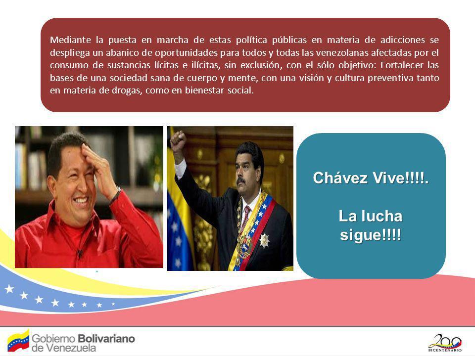 Chávez Vive!!!!. La lucha sigue!!!!
