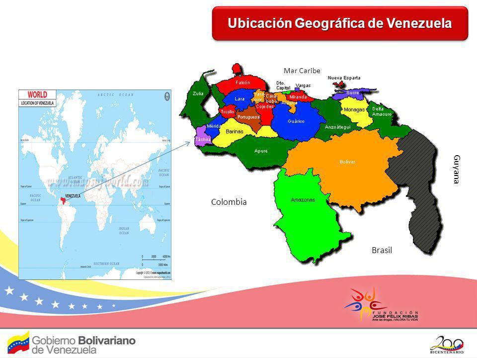 Ubicación Geográfica de Venezuela