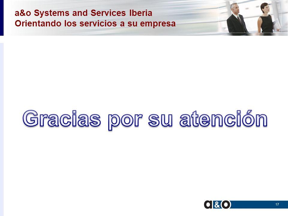 a&o Systems and Services Iberia Orientando los servicios a su empresa