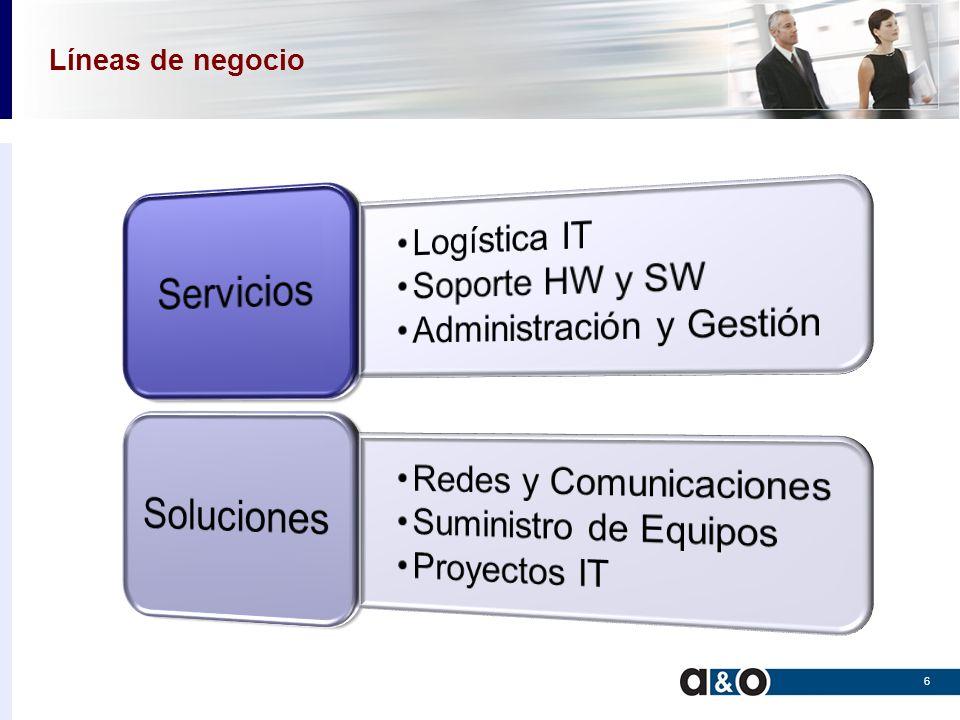 Servicios Soluciones Logística IT Soporte HW y SW