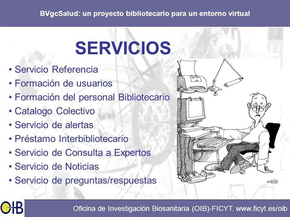 BVgcSalud: un proyecto bibliotecario para un entorno virtual