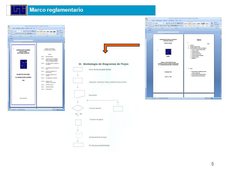 Marco reglamentario 1