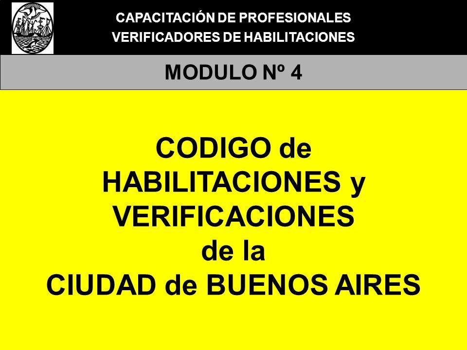 CODIGO de HABILITACIONES y VERIFICACIONES de la CIUDAD de BUENOS AIRES