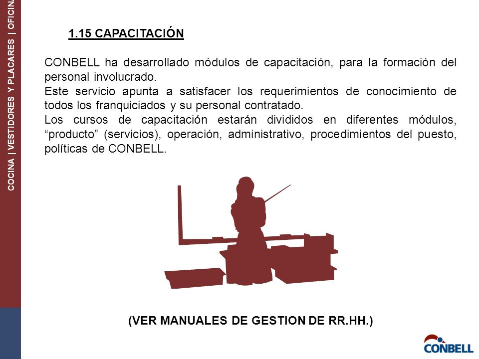 (VER MANUALES DE GESTION DE RR.HH.)