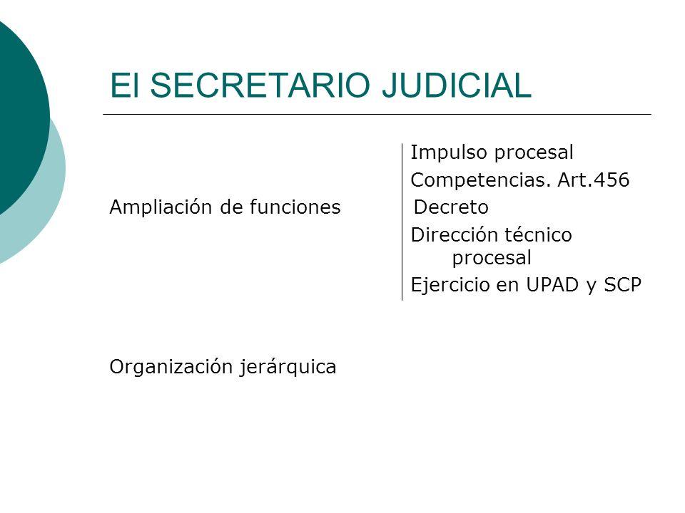 El SECRETARIO JUDICIAL