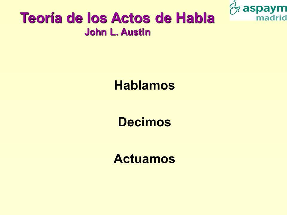 Teoría de los Actos de Habla John L. Austin