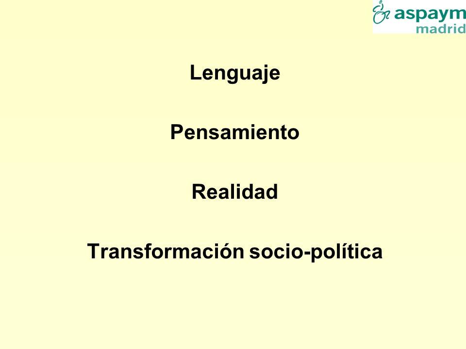 Transformación socio-política