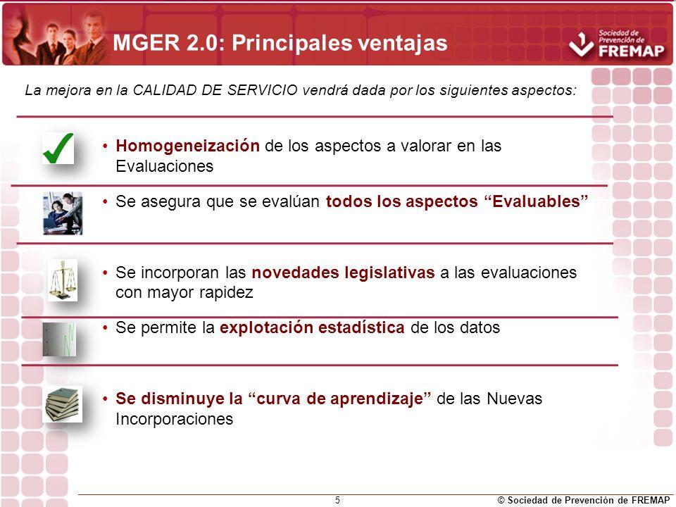 MGER 2.0: Principales ventajas