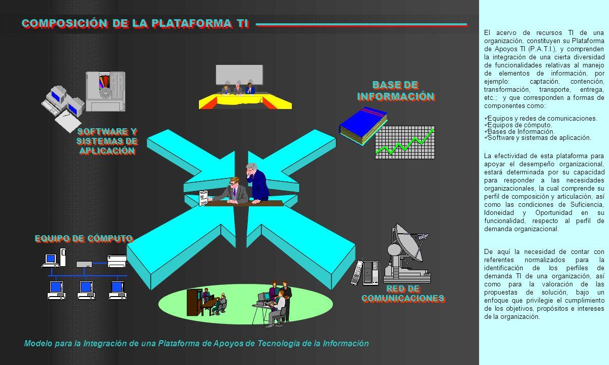 COMPOSICIÓN DE LA PLATAFORMA TI
