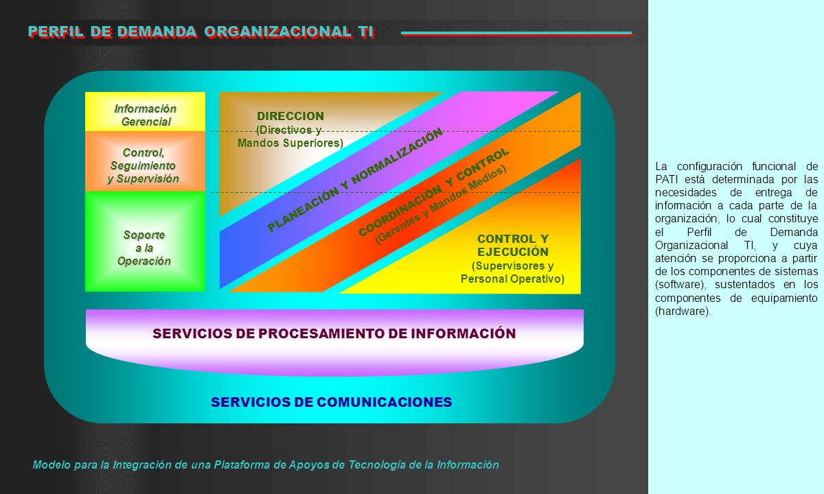 PERFIL DE DEMANDA ORGANIZACIONAL TI