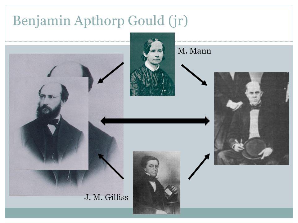 Benjamin Apthorp Gould (jr)