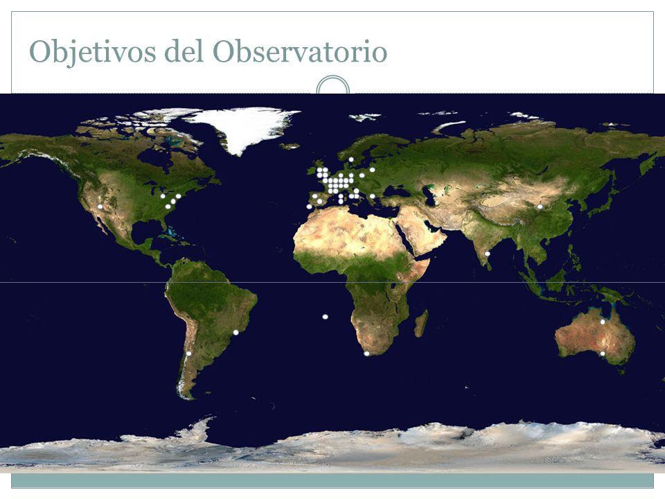Objetivos del Observatorio