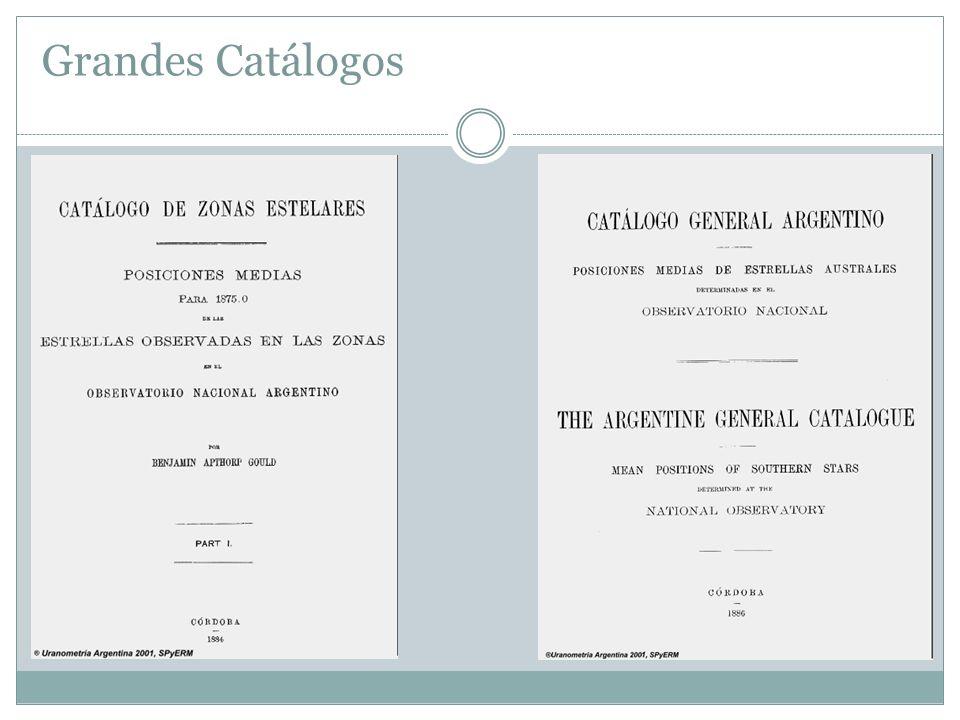 Grandes Catálogos