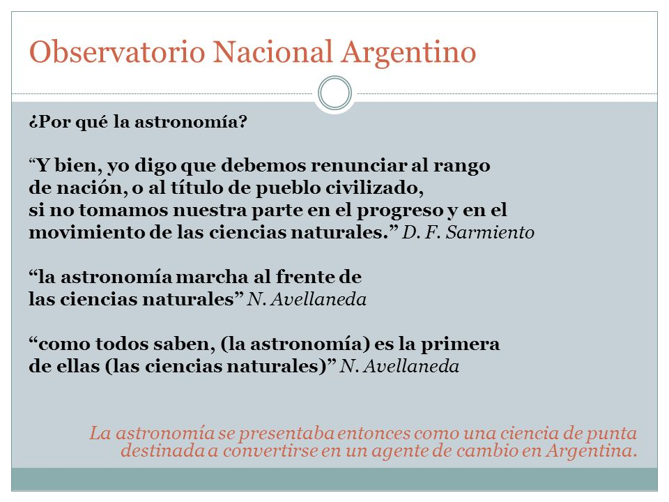 Observatorio Nacional Argentino