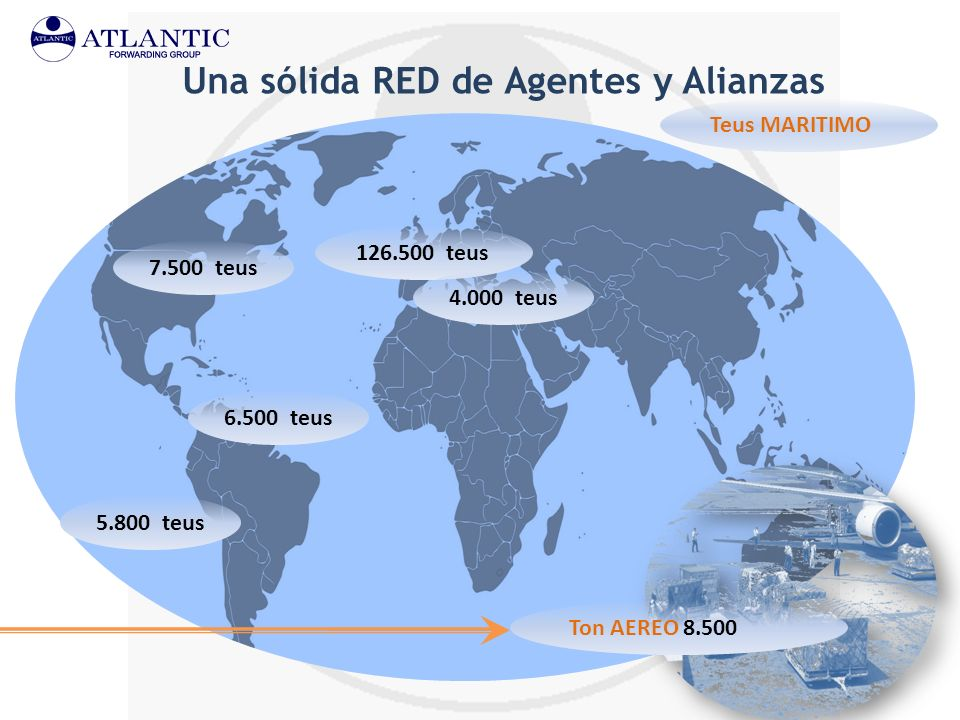 Una sólida RED de Agentes y Alianzas