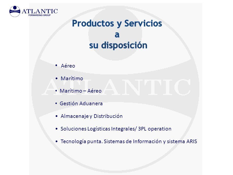 Productos y Servicios a su disposición