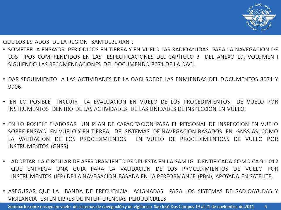 QUE LOS ESTADOS DE LA REGION SAM DEBERIAN :