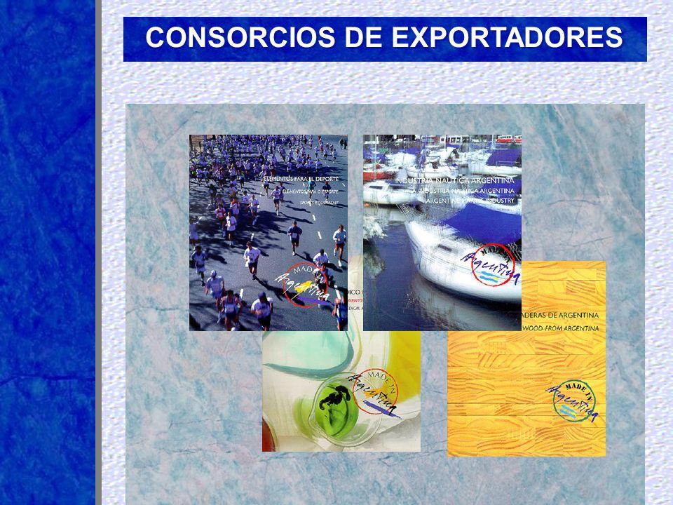 CONSORCIOS DE EXPORTADORES