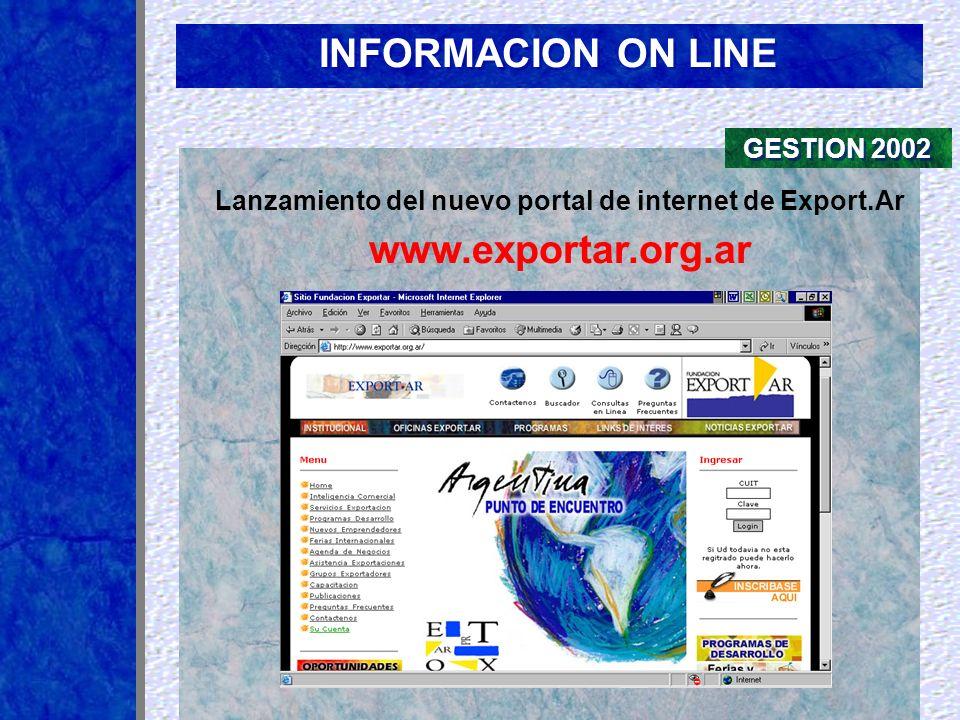 Lanzamiento del nuevo portal de internet de Export.Ar