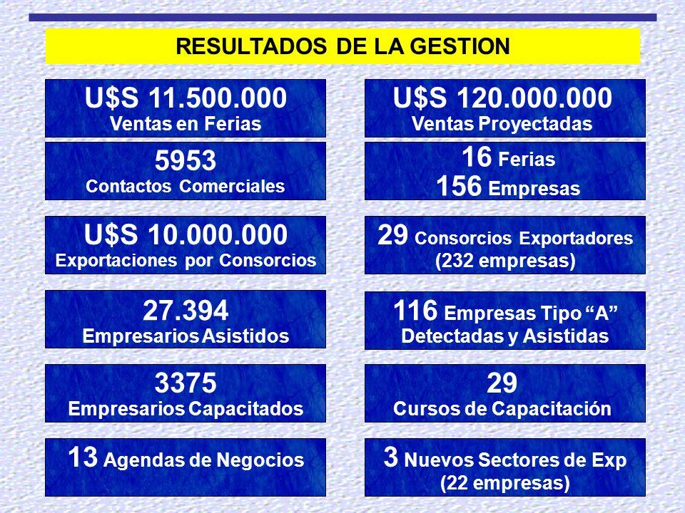 29 Consorcios Exportadores