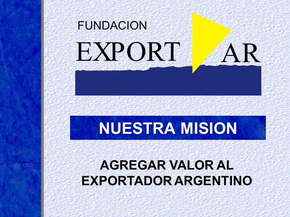 AGREGAR VALOR AL EXPORTADOR ARGENTINO