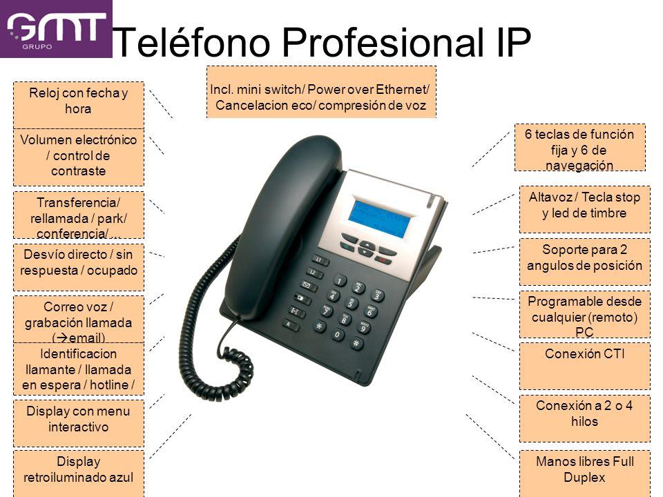 Teléfono Profesional IP