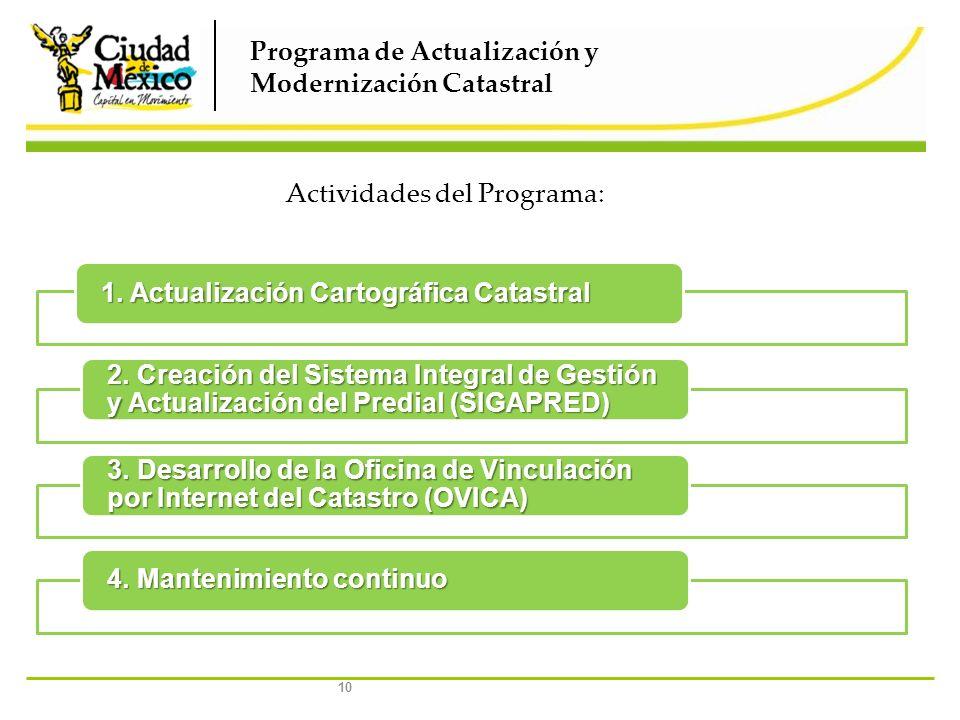 Programa de Actualización y Modernización Catastral