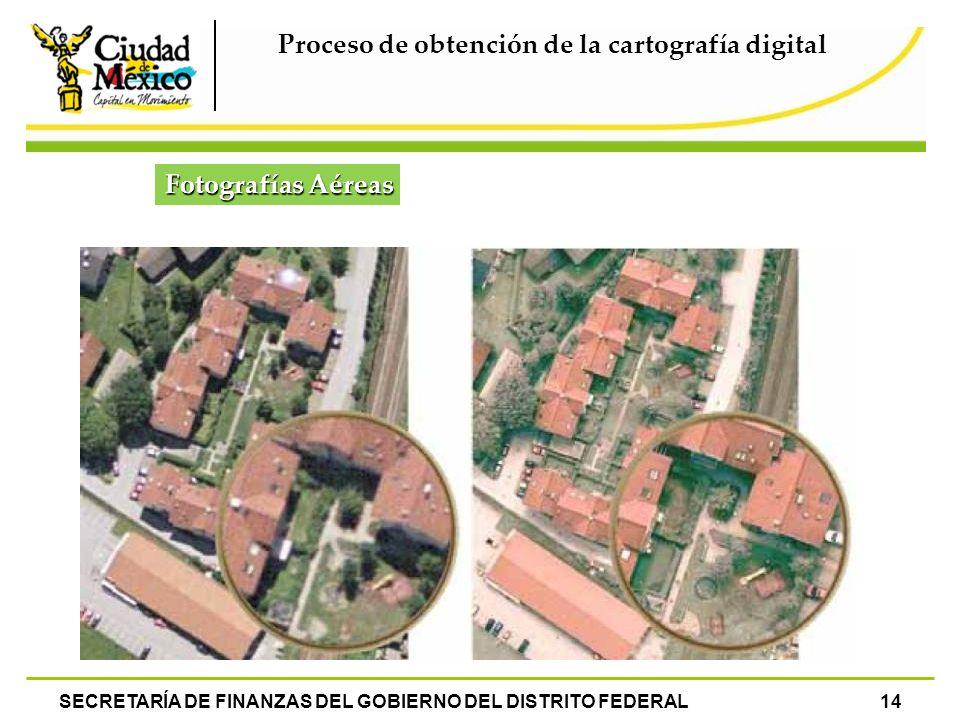 Proceso de obtención de la cartografía digital